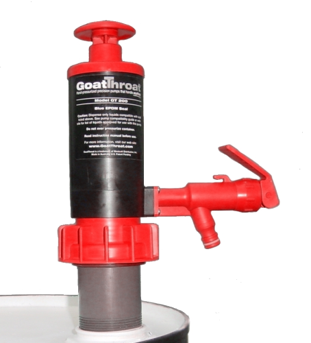 Goatthroat Pump with STANDOFF Nitrile