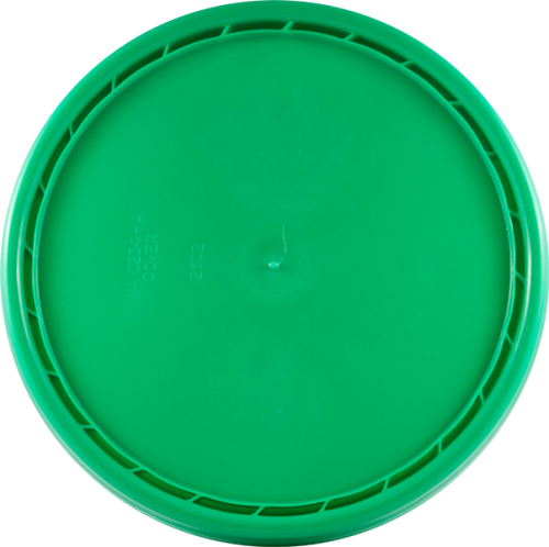 Green Lid for 5 gallon pail